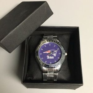 🆕New England Patriots Watch With Box